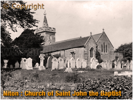 Niton : Church of Saint John the Baptist [c.1920]