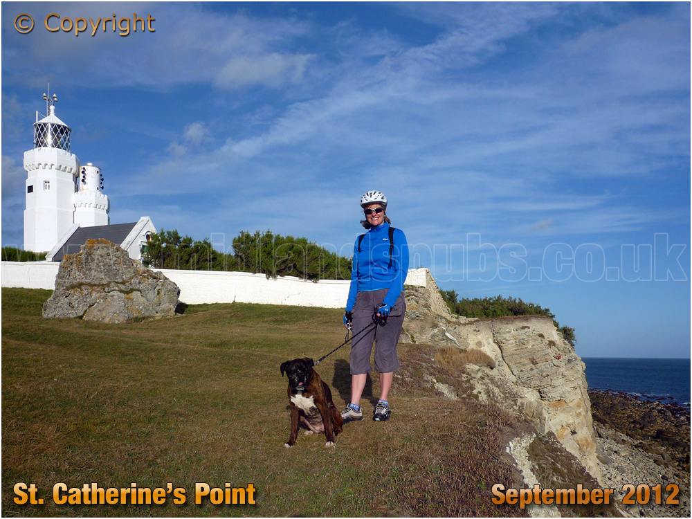 Niton : The Lighthouse at Saint Catherine's Point [2012]
