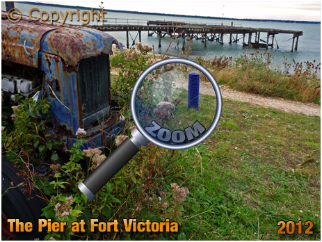 The Pier at Fort Victoria near Norton [2012]