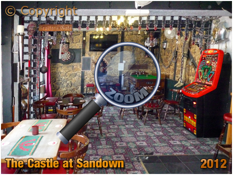 Sandown : Interior of The Castle [2012]