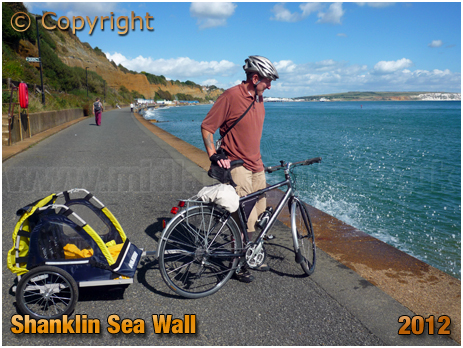 Shanklin : Sea Wall [2012]