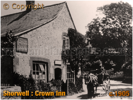 The Crown Inn at Shorwell [c.1905]