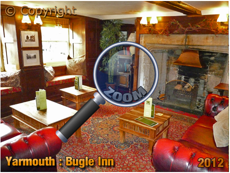 Interior of the Bugle Inn at Yarmouth [2012]