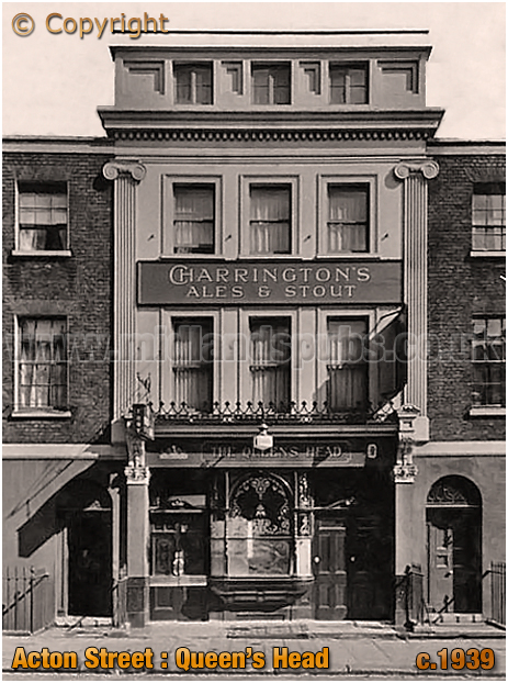 King's Cross : The Queen's Head in Acton Street [c.1939]