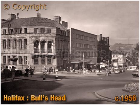 The Bull's Head at Halifax [c.1956]