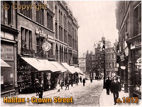 Crown Street in Halifax [c.1912]