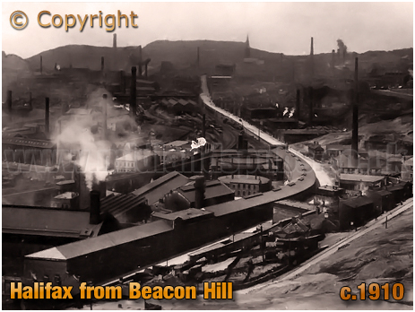 Halifax from Beacon Hill [c.1910]