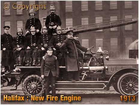The New Fire Engine for Halifax [1913]