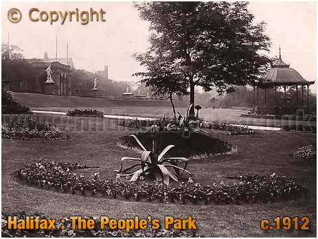 The People's Park at Halifax [c.1912]