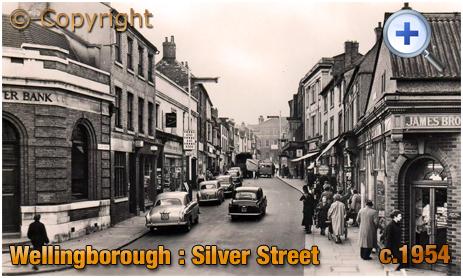 Wellingborough : Silver Street [c.1954]