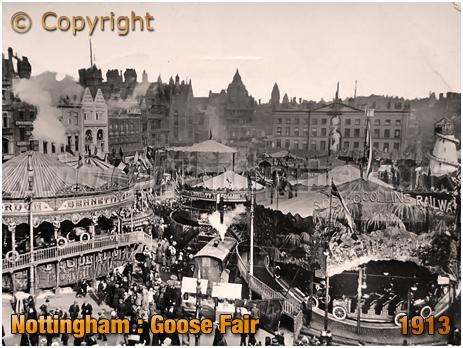 Nottingham : Goose Fair [1913]