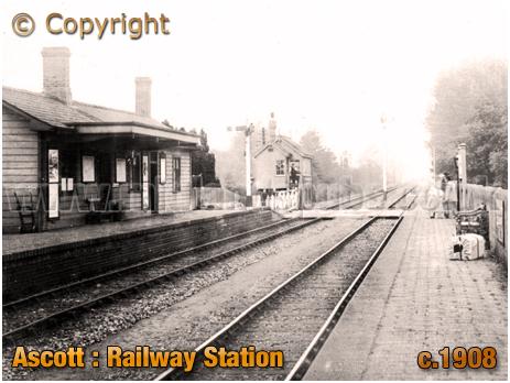 Ascott : Railway Station [c.1908]