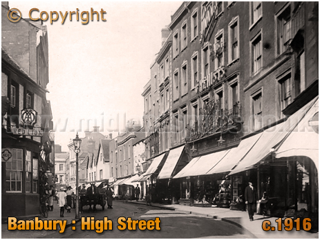 Banbury : High Street and Red Lion [c.1916[