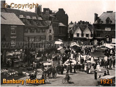 Banbury : Market [1921[