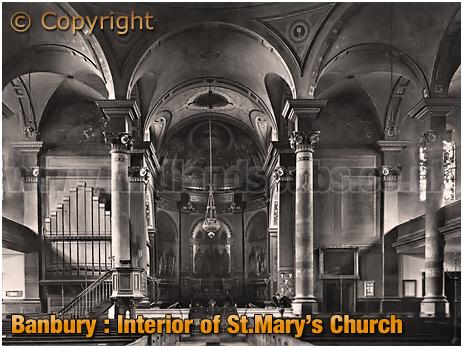 Banbury : Interior of Saint Mary's Church [c.1912[