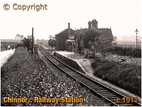 Chinnor : Railway Station [c.1911]