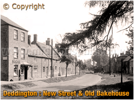 Deddington : New Street and Old Bakehouse [c.1912[