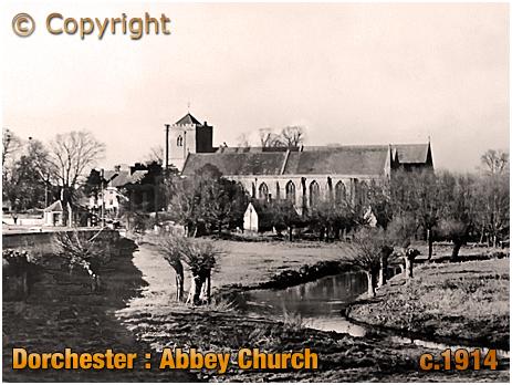 Dorchester : Abbey Church [c.1914]