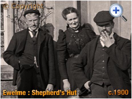 Ewelme : Landlady of the Shepherd's Hut [c.1900]