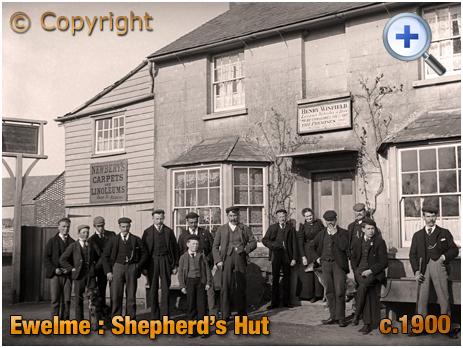 Ewelme : The Shepherd's Hut [c.1900]