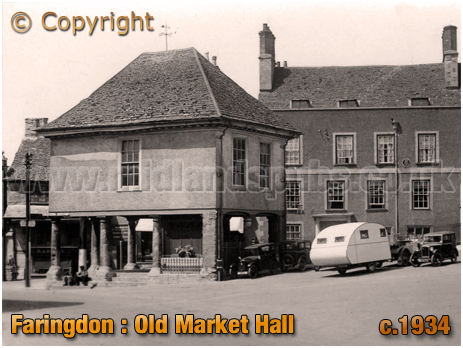 Faringdon : Old Market Hall [c.1934]
