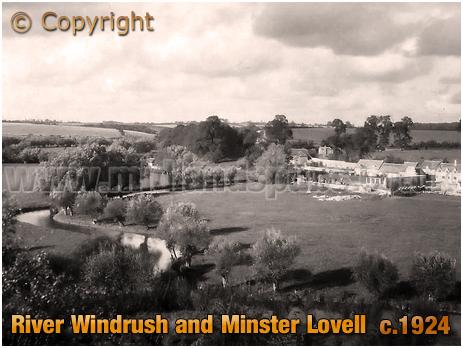 Minster Lovell : River Windrush [c.1924]