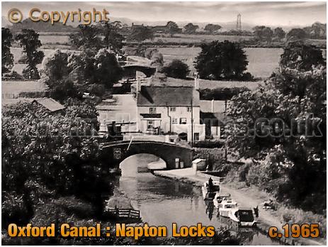 Oxford Canal : Napton Locks [c.1965]