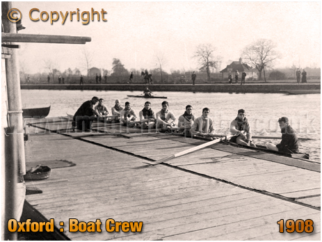 Oxford : Boat Crew [c.1908]