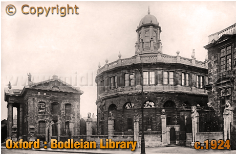 Oxford : Bodleian Library [c.1924[