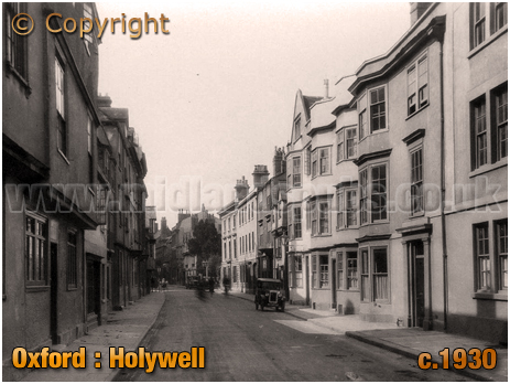 Oxford : Holywell [c.1930]