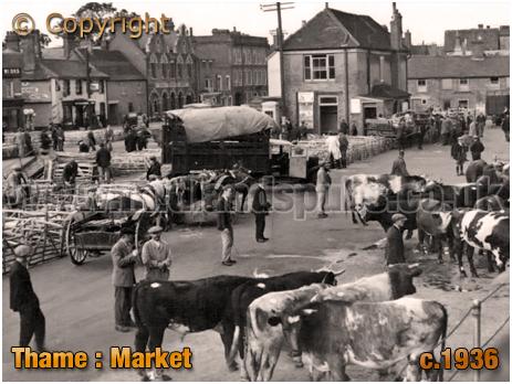 Thame : Market [c.1936]