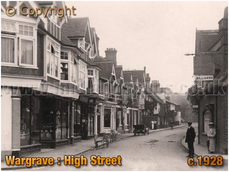 Wargrave : High Street [c.1928]