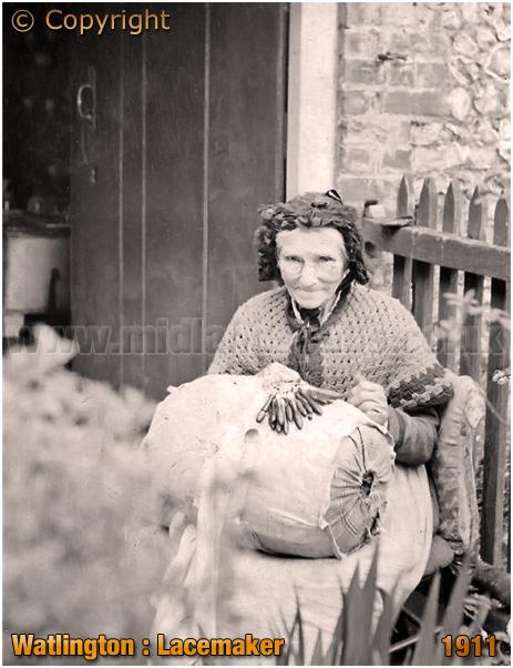 Watlington : Lace Maker [1911]