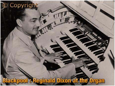 Reginald Dixon at Blackpool Tower Ballroom [c.1948]