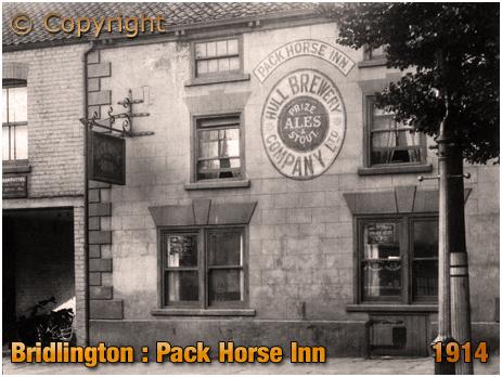 The Pack Horse Inn at Bridlington [1914]
