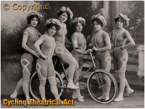 Cycling Theatrical Act [c.1912]