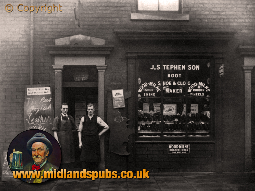 Lancashire : J. Stephenson Boot, Shoe and Clog Maker [c.1914]