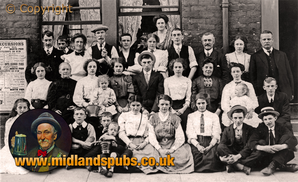 Lancashire : Hotel Guests at Blackpool [c.1908]