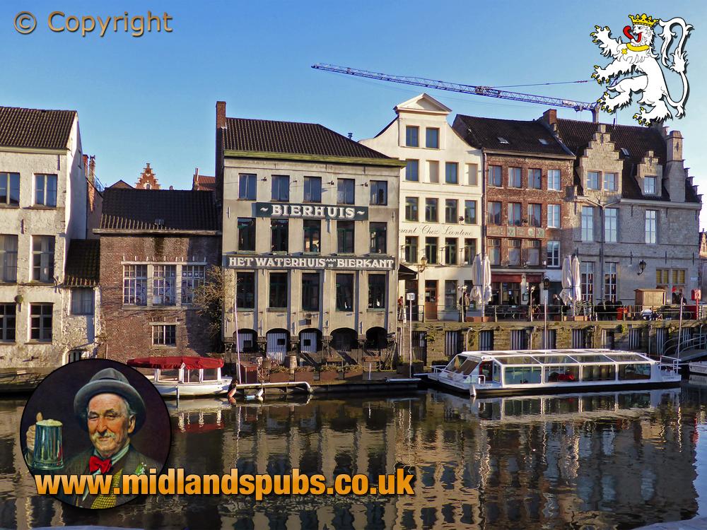Gent : Het Waterhuis aan de Bierkant at Groentenmarkt 9 [2004]