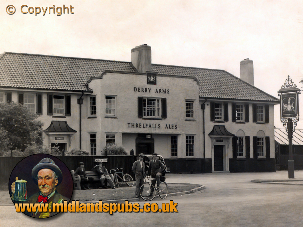 Lancashire : Derby Arms at Halewood [c.1949]