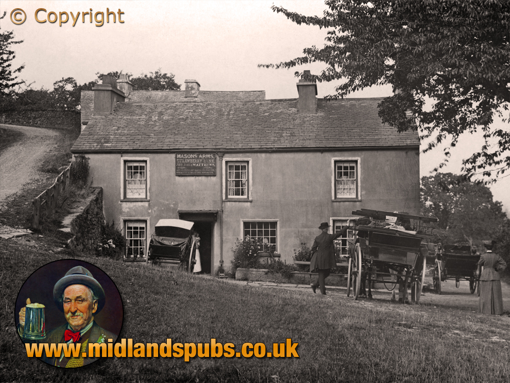 Lancashire : Masons' Arms at Strawberry Bank near Bowland Bridge and Cartmel Fell [c.1905]
