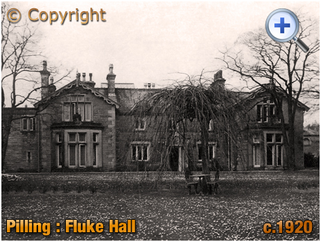 Lancashire : Fluke Hall at Pilling [c.1920]
