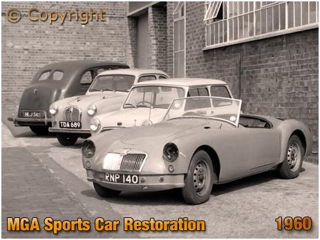 MGA Sports Car Restoration [1960]
