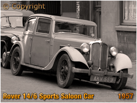 Rover 14/6 Sports Saloon Car [1957]