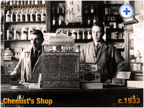 Interior of Chemist's Shop [c.1933]