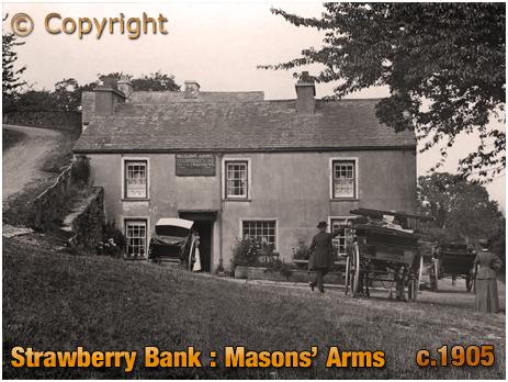 Lancashire : Masons' Arms at Strawberry Bank [c.1905]