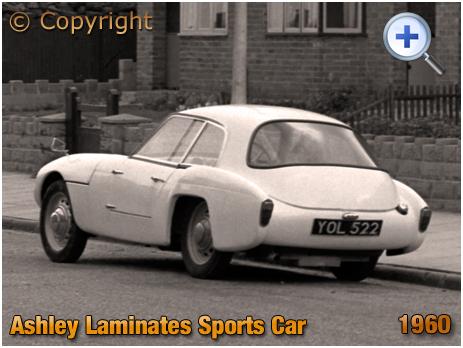 Ashley Laminates Sports Car parked in Templefield Street at Birmingham [1960]