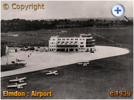 Birmingham : Elmdon Aiport [1939]