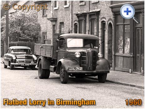 Flatbed Lorry in Birmingham [1960]
