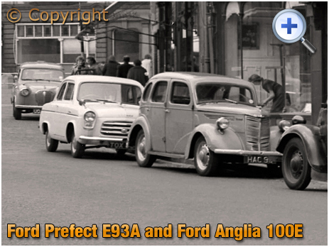 Ford Prefect E93A and Ford Anglia 100E [1959]